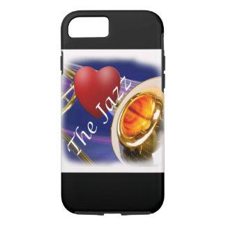 Trombone-Musiker-Liebe-Jazz Iphone, Ipad iPhone 8/7 Hülle