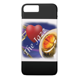 Trombone-Musiker-Liebe-Jazz Iphone, Ipad iPhone 8 Plus/7 Plus Hülle