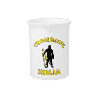 Trombone Ninja Getränke Pitcher