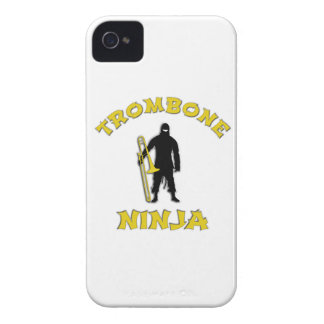Trombone Ninja iPhone 4 Hüllen