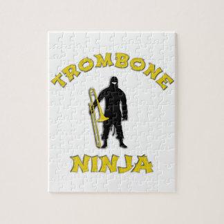 Trombone Ninja Puzzle