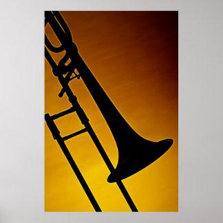 Trombone-Plakat Poster