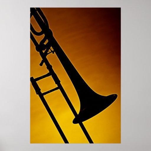 Trombone-Plakat