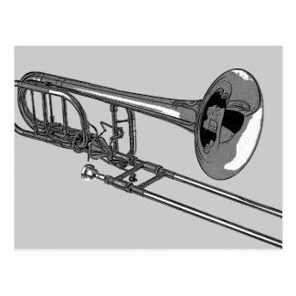 Trombone Postkarte