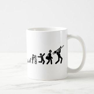Trombone-Spieler Kaffeetasse