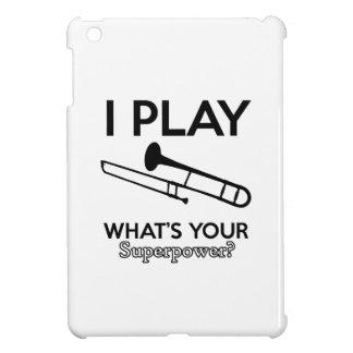 Tromboneentwürfe iPad Mini Hülle