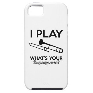 Tromboneentwürfe iPhone 5 Etui
