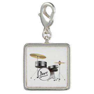 Trommel-Ausrüstung Foto Charms