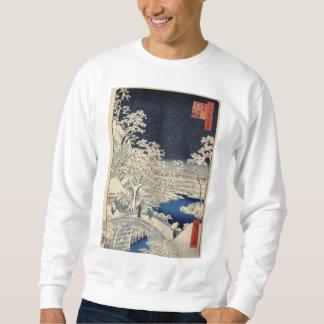 Trommel-Brücke an Meguro und am Sweatshirt