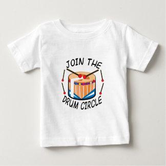 Trommel-Kreis Baby T-shirt