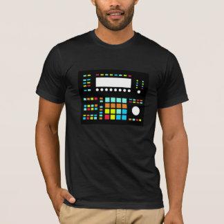 Trommel-Maschinen-amerikanisches T-Shirt