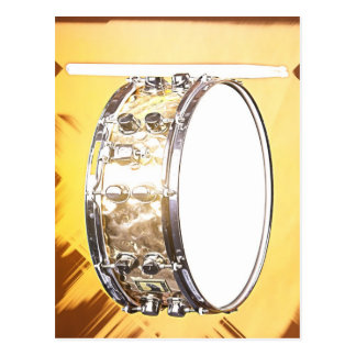 Trommel-oder Schlagzeuger-Postkarte Postkarte