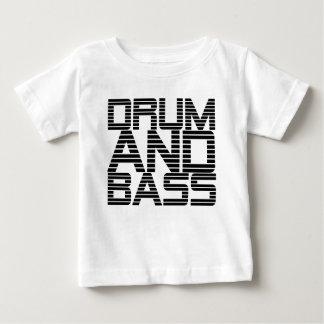 Trommel und Baß Baby T-shirt