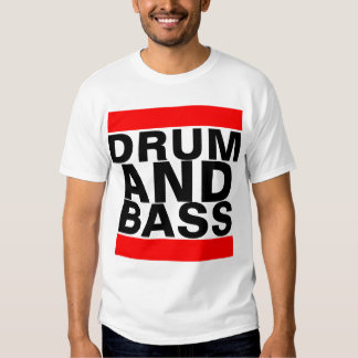 Trommel und Bass-T - Shirt