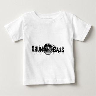 Trommel und Baß zerbrachen Aufzeichnung Baby T-shirt
