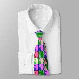 Trommeln in der Pop-Kunst-Krawatte Krawatte