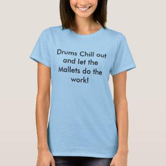 Trommeln kühlen heraus T-Shirt