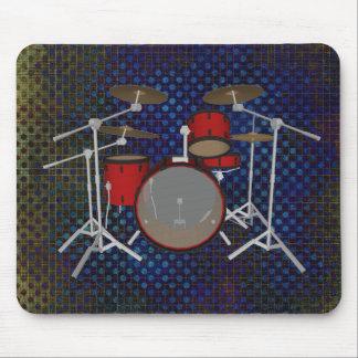 Trommeln: Rote Trommel-Ausrüstung: Modell 3D: Mauspads
