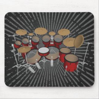 Trommeln: Rote Trommel-Ausrüstung: Modell 3D: Mousepads