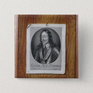 Trompe - L ' oeil Stillleben eines Druckes von Quadratischer Button 5,1 Cm