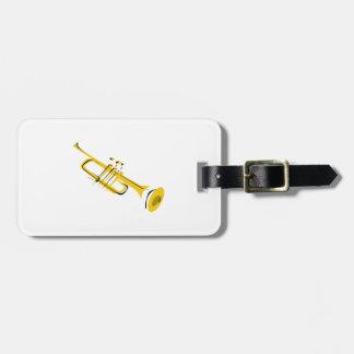 Trompete Adress Schild