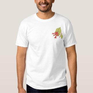 Trompete-Geißblatt Besticktes T-Shirt