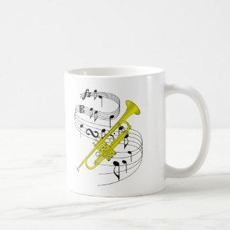 Trompete Kaffeetasse