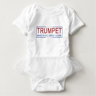 TROMPETE - machen Sie Musik groß wieder! Baby Strampler