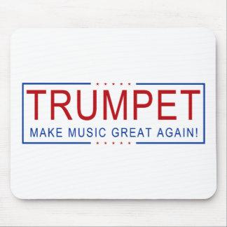 TROMPETE - machen Sie Musik groß wieder! Mousepad