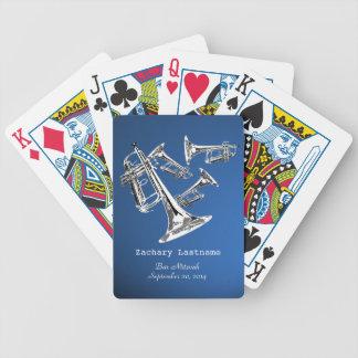 Trompete-Manie-Bar Mitzvah Spielkarten