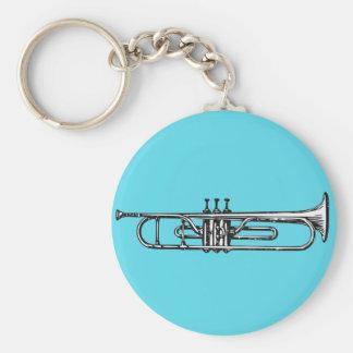 Trompete Schlüsselanhänger