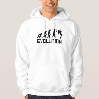 Trompete-Spieler-Evolution Hoodie