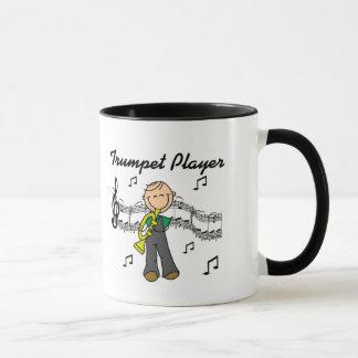 Trompete-Spieler-T - Shirts und Geschenke Tasse