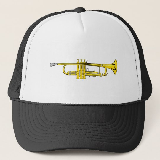 trompete trumpet truckerkappe