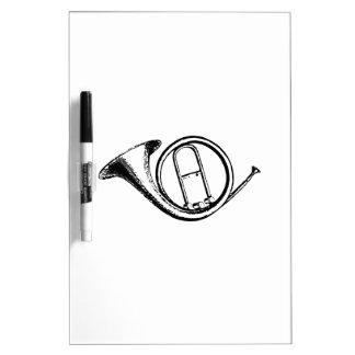 Trompete u. Musik-Liebe Memoboard