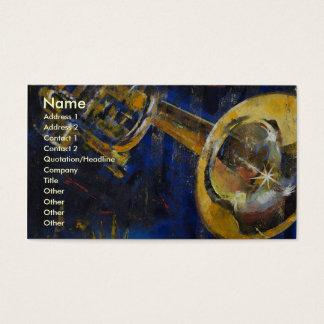 Trompete Visitenkarte