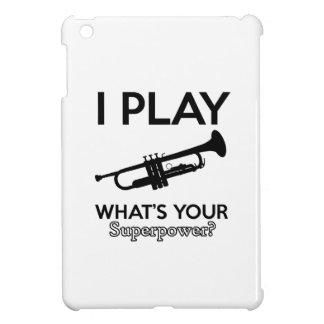 Trompeteentwürfe iPad Mini Hülle