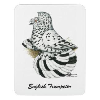 Trompeters-Tauben-Licht-Spritzen Türschild