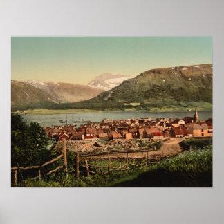 Tromso, Troms, Nord-Norge, Norwegen Poster
