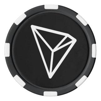 TRON TRX Logo-Poker-Chips Pokerchips