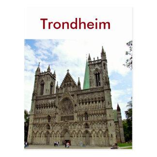 Trondheim, Norwegen Postkarte
