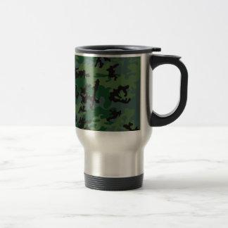 Tropen-Verdant Camouflage-rostfreier Reisebecher