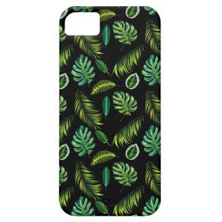 Tropen verlassen Muster handgemachtes BlumenTiki Hülle Fürs iPhone 5