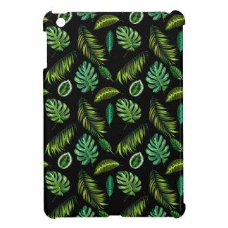 Tropen verlassen Muster handgemachtes BlumenTiki iPad Mini Hülle