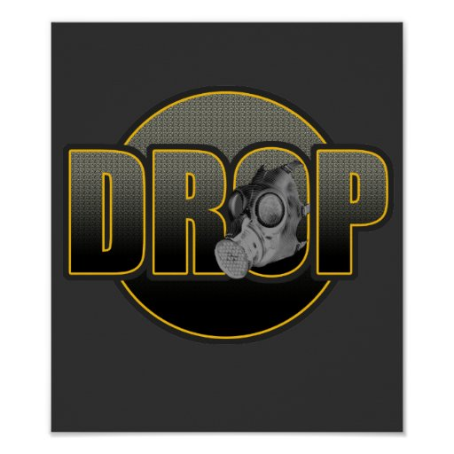 TROPFEN DnB Drumnbass dubstep Dschungel Hardstyle  Plakate