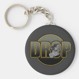 TROPFEN DnB Drumnbass dubstep Dschungel Hardstyle Standard Runder Schlüsselanhänger