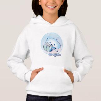 Tropfen sündigt Sweatshirt mit Kapuze für Niñas.