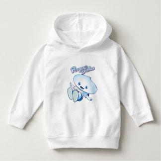 Tropfen sündigt Sweatshirt mit Kapuze für Niños.