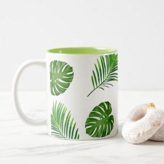 Tropisch Zweifarbige Tasse