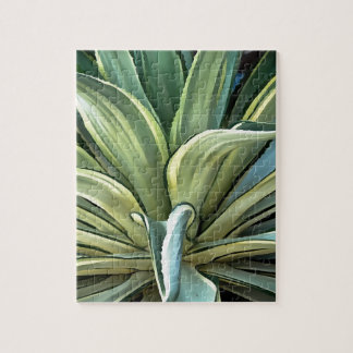 Tropische Agave Puzzle